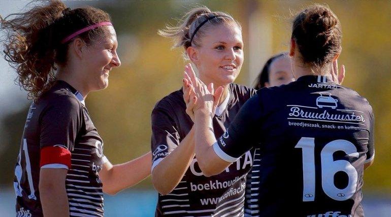 Ladies-captain Lisa Jacobs voorgesteld