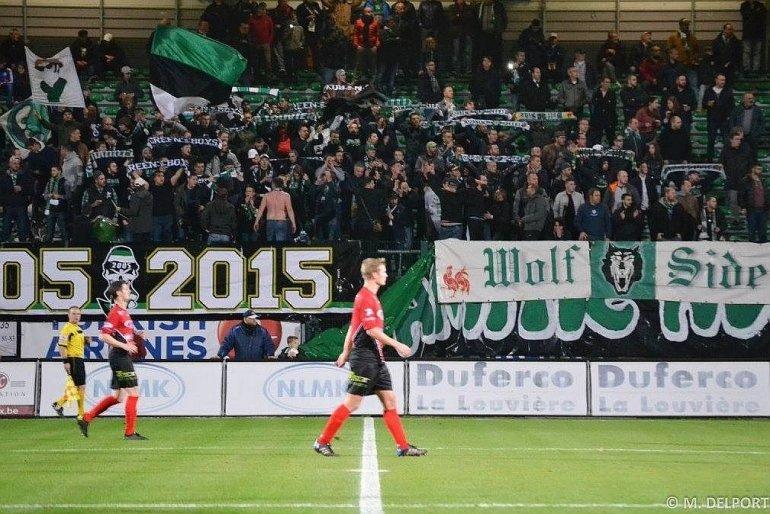 Combiregeling voor supporters La Louvière