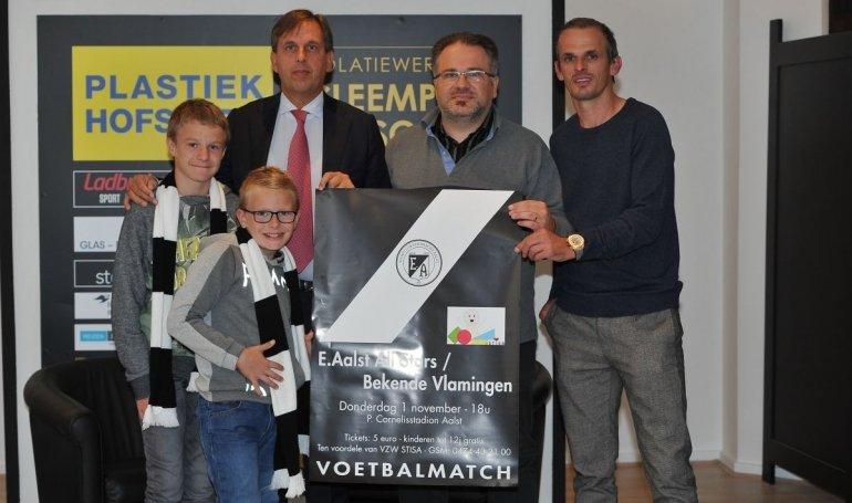 Eendracht Aalst en STISA organiseren benefietmatch