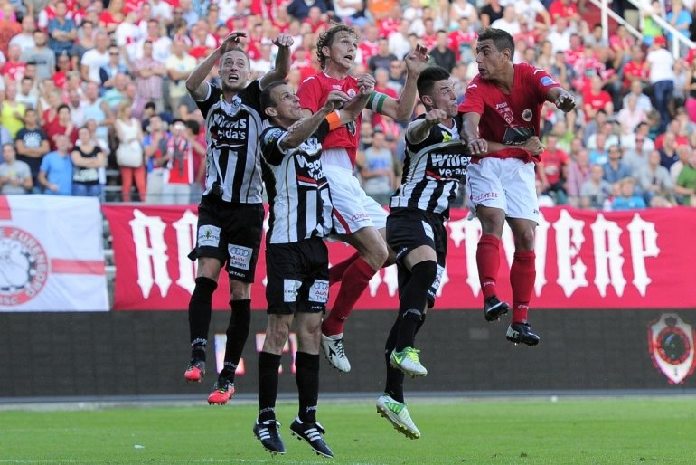 Zondag clash tegen Royal Antwerp FC
