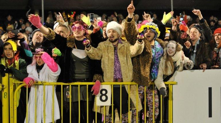Carnavalsmatch tegen SK Deinze