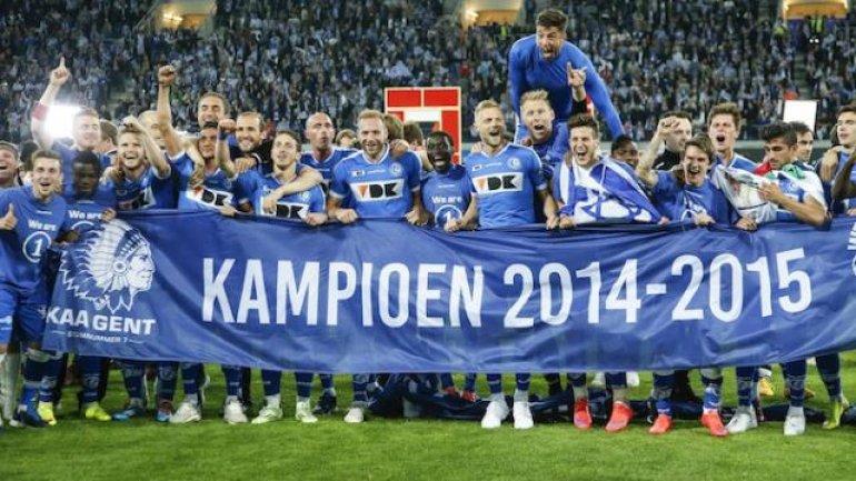 Landskampioen AA Gent op bezoek