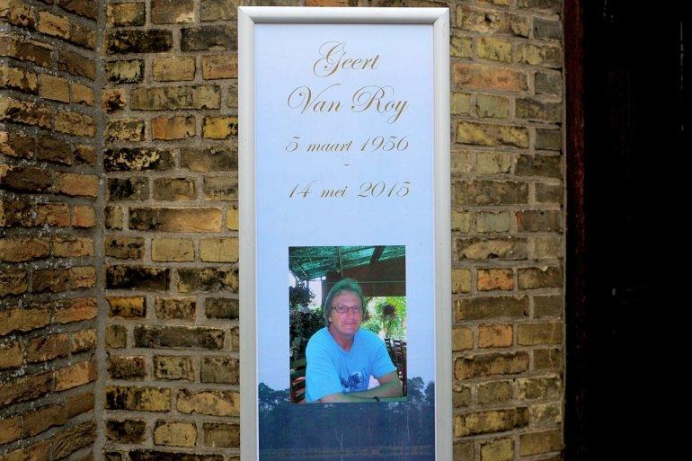 Afscheid van Geert Van Roy