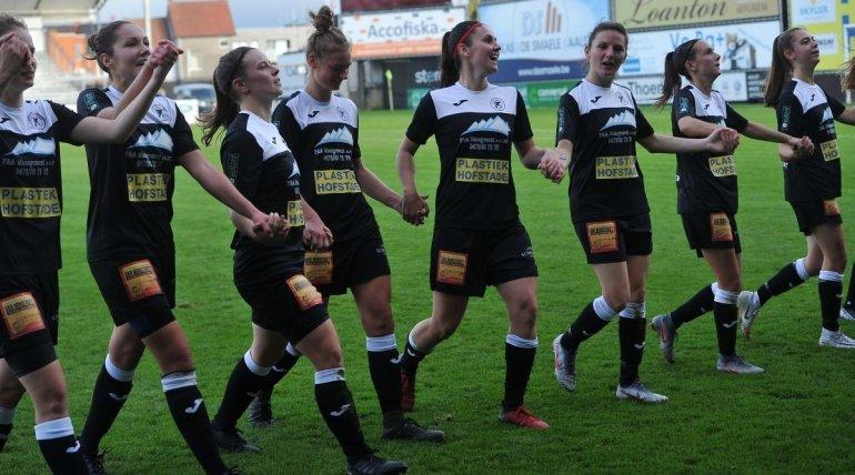 Topaffiche voor de Eendracht Ladies tegen AA Gent!