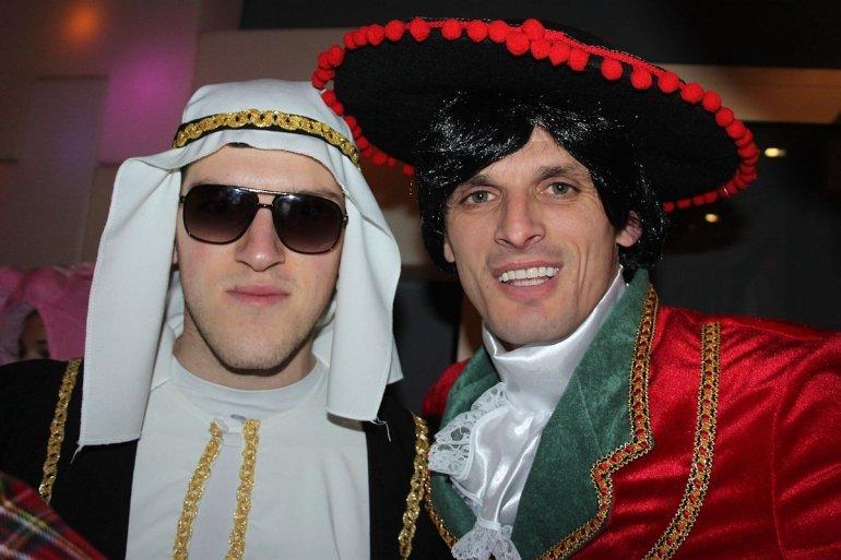 Spelersgroep naar Aalst Carnaval