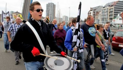 Politie Oostende dankt de supporters