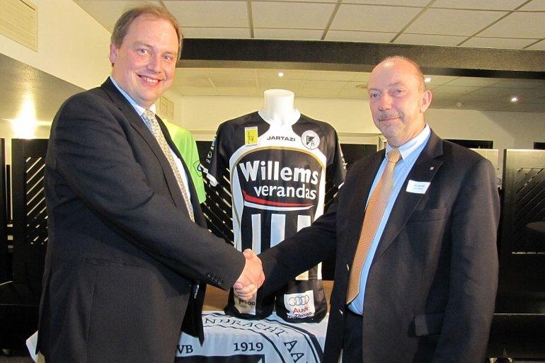 Willems Veranda's drie jaar langer shirtsponsor