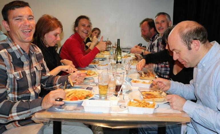 Tombolawinnaars eetfestijn