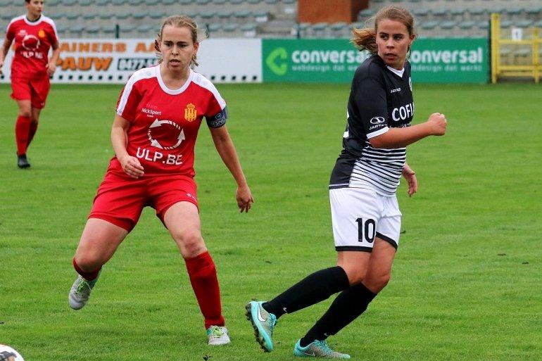 AA Gent Ladies spelen het hard
