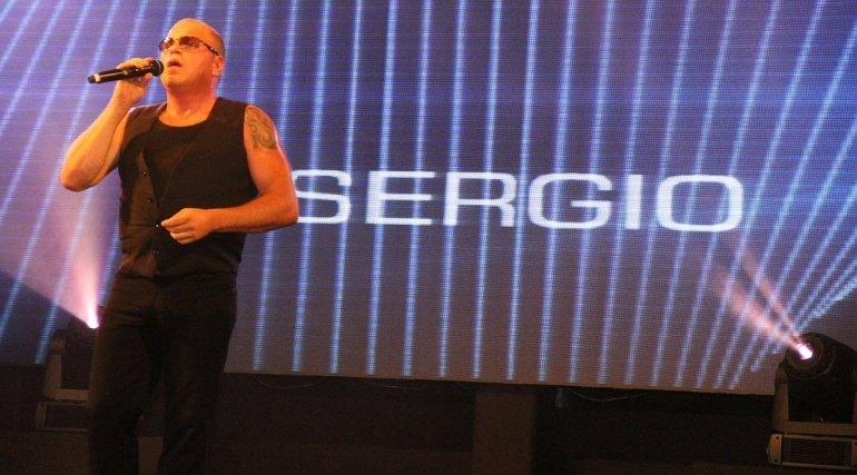 Sergio op de Nacht van Eendracht Aalst!