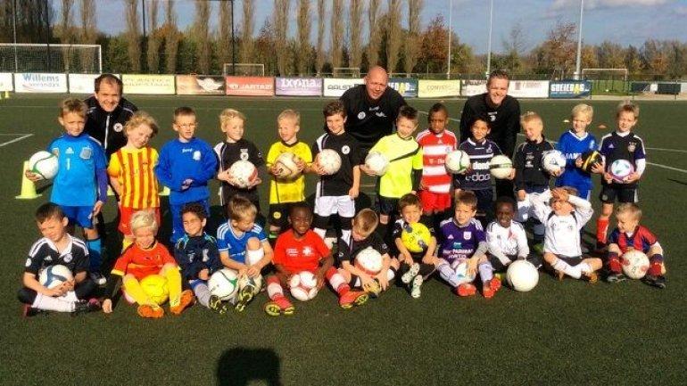 Jong voetbaltalent in de Denderstreek