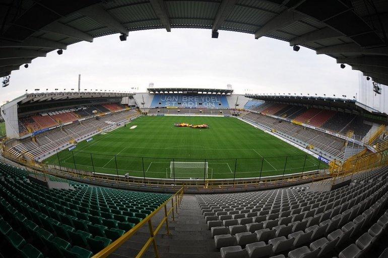 Cupmatch in Jan Breydelstadion