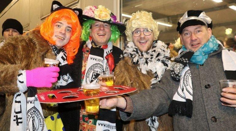 Voorverkoop carnavalsmatch E.Aalst - Rupel Boom