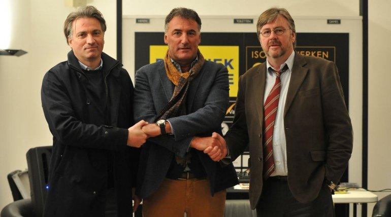 """Yves Van Borm: """"Grote eer om hier trainer te worden"""""""