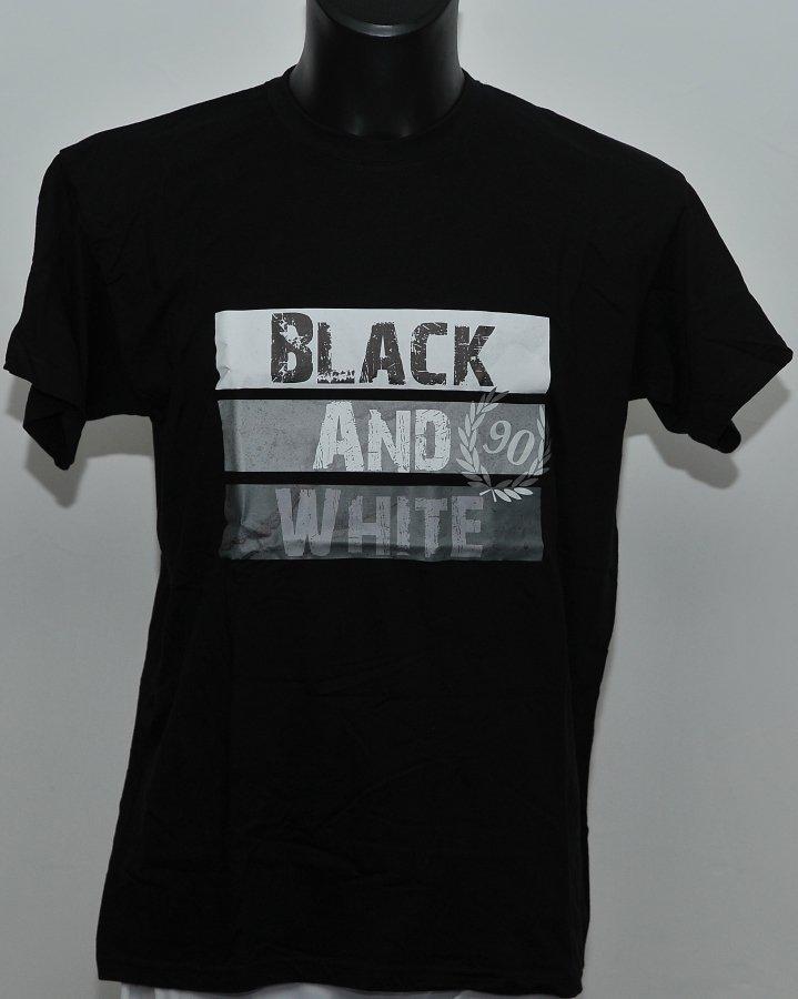 T-shirt Black & White