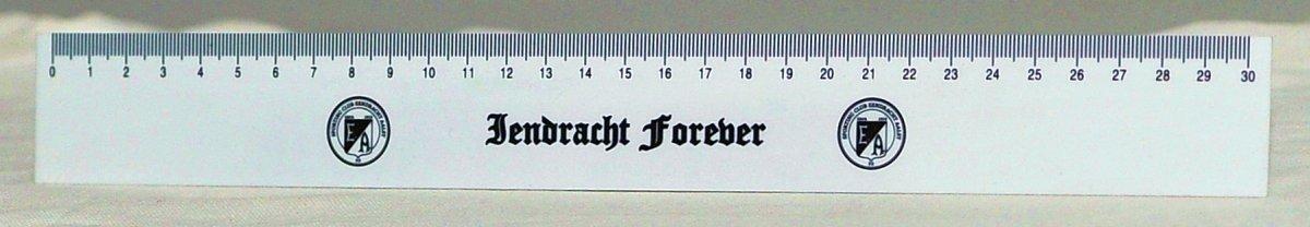 Meetlat 'Iendracht forever'